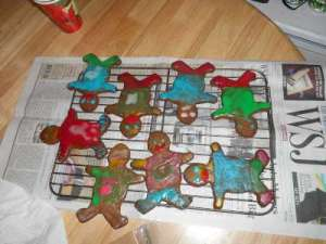 Look at all the Shiny Gingerbread People.